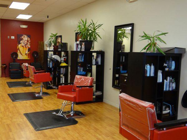 Hair Salon Stations