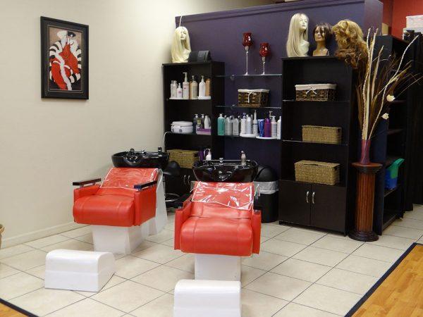Hair Salon Hair Washing Sinks