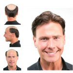 Stock Men's Human Hair Toupee