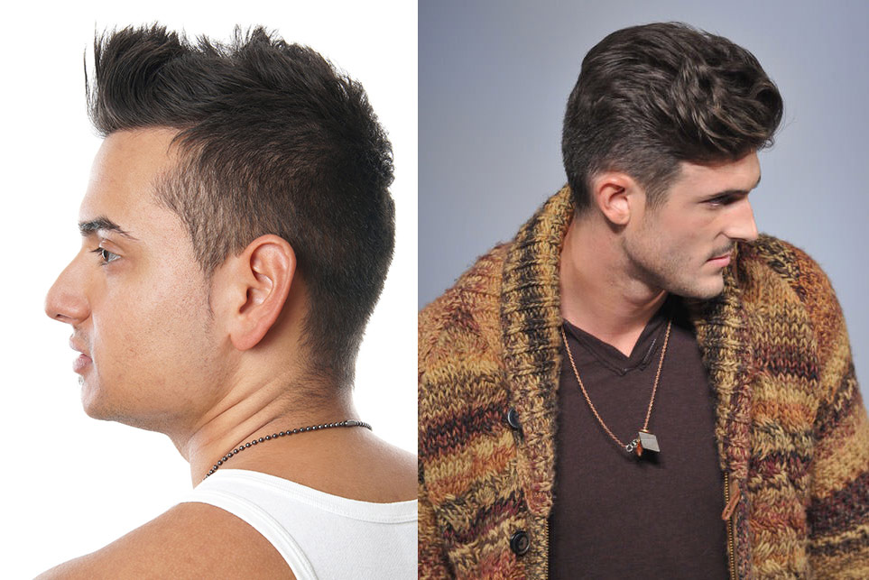 Men Hair Cut and Style